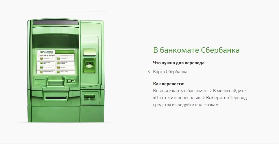 Перевод денег с карты на карту Сбербанка через телефон 900