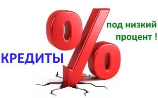 Процентная ставка по кредиту в Сбербанке