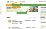 Сбербанк Онлайн личный кабинет вход через различные устройства