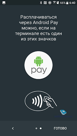 Android Pay Сбербанк