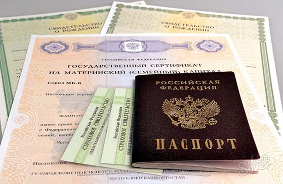 паспорт и свидетельства